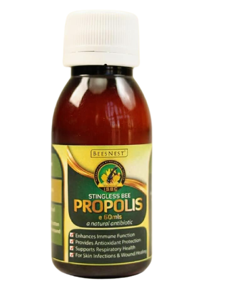 Propolis tincture, a product of Beesnest Ghana